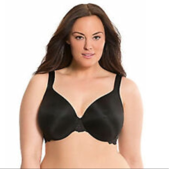 4073dc29b7b Cacique 46DDD Satin Full Coverage Underwire Bra